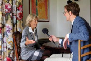 Floris interviewt prinses Irene over gelukkig zijn